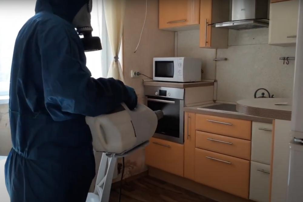 Антибактериальная обработка помещений в Москве