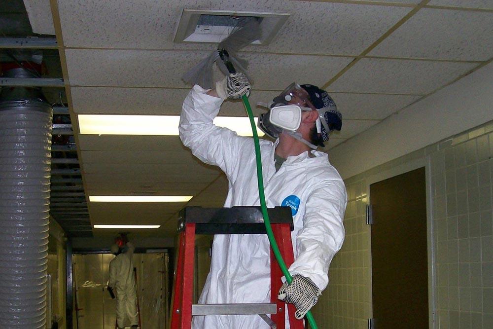чистка вытяжной вентиляции