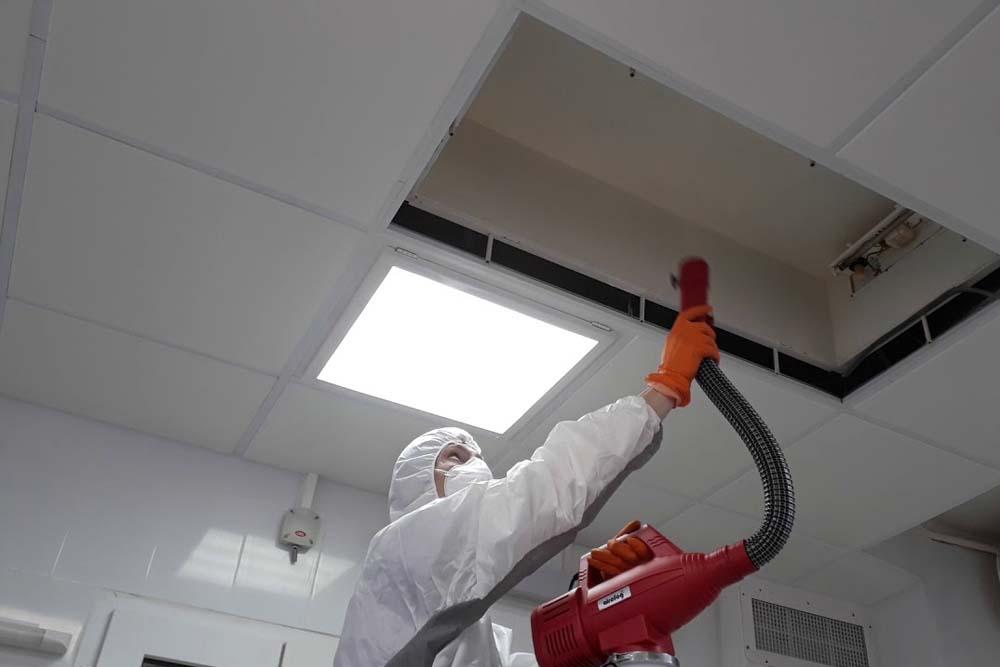дезинфекция кондиционеров и систем вентиляции
