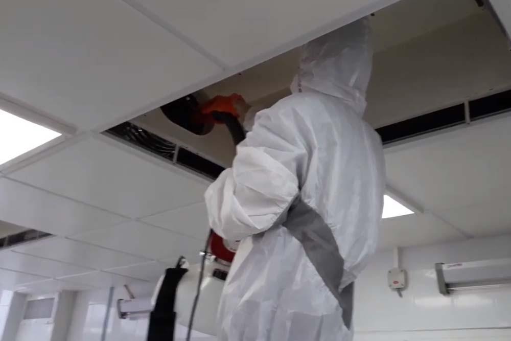 работы по дезинфекции вентиляции в Москве