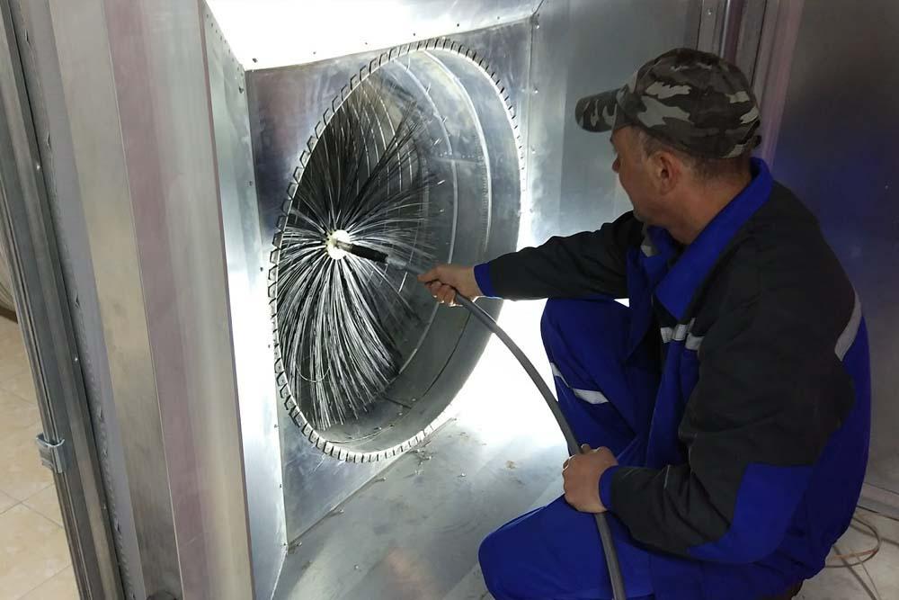 дезинфекция приточно вытяжных систем вентиляции