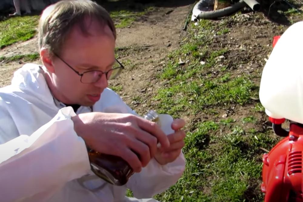 Обработка дачи от клещей в московской области