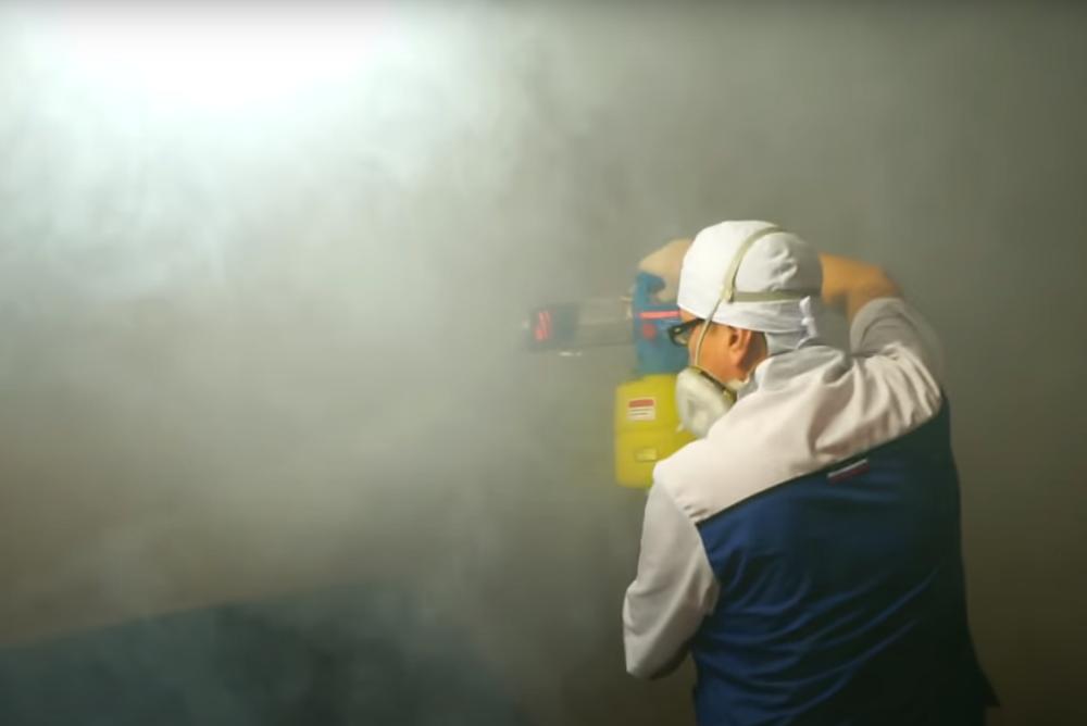 Обработка от клопов туманом в Москве